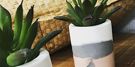 ADULT CRAFT WORKSHOP: Make Your own Eco-Resin Succulent & Cacti Pots Jan 28th tickets