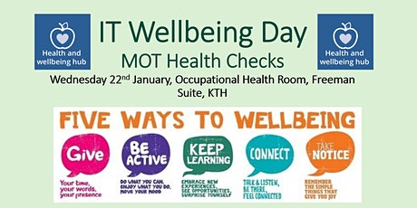 IT Wellbeing Day tickets