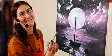 Moonstruck Brush Party - St Albans tickets