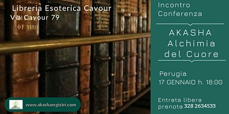 Conferenza Akasha Alchimia del Cuore biglietti