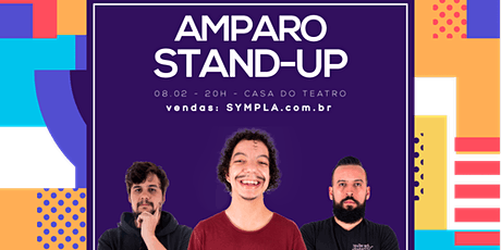 COMEDIA STAND UP EM AMPARO| com LUCA MENDES, SANTIAGO MELLO E MURILO MORAES ingressos
