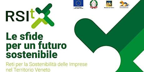 Le sfide per un futuro sostenibile biglietti