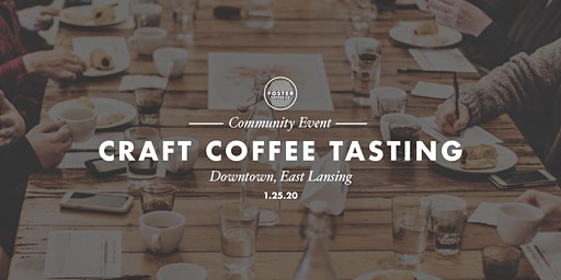 Craft Coffee Tasting