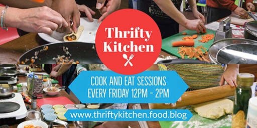 Thrifty Kitchen: Cook and Eat Session