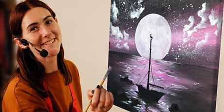 Moonstruck Brush Party - Bicester tickets