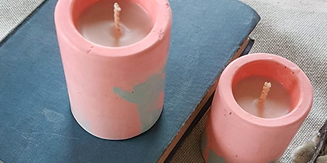 ADULT CRAFT WORKSHOP: Make your own Eco-Resin Pots & Candle Making Feb 12th tickets