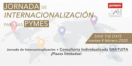 jornada de internacionalización para las pymes tickets