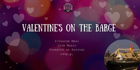Valentine's on the Barge! tickets