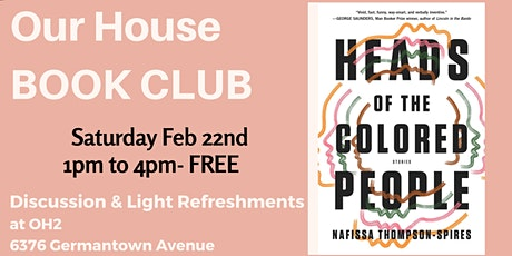 Our House Book Club tickets