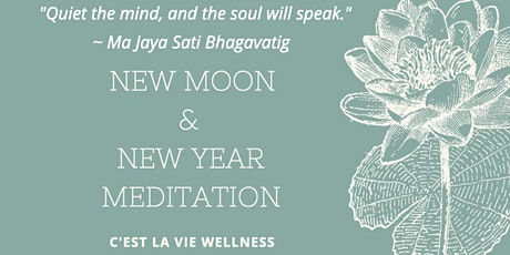 New Moon & New Year Meditation tickets