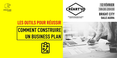 Comment construire un business plan avec Créart'up billets