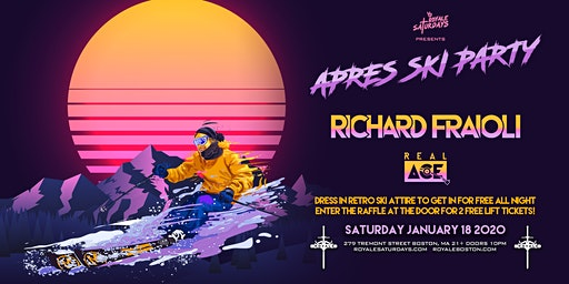 Apres Ski | Royale Saturdays | 1.18.20 | 10:00 PM | 21+