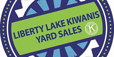 2020 Liberty Lake Kiwanis Community Yard Sales bilhetes