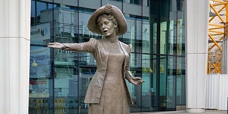 Guided Walking Tour in aid of The Pankhurst Centre: Manchester Peace Trail tickets