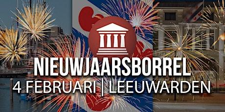 Nieuwjaarsborrel FVD Leeuwarden tickets
