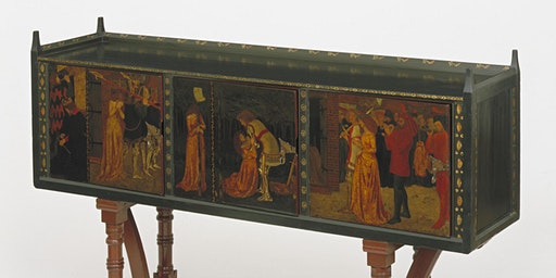 Painted Furniture at the V&A, from William Morris to the Omega Workshops