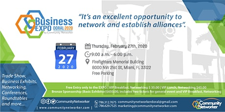 Business Expo Doral 2020 by Community Networker tickets