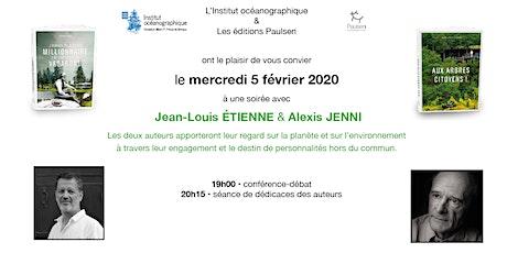 Jean-Louis Étienne & Alexis Jenni - discussion sur l'environnement billets