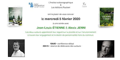 Jean-Louis Étienne & Alexis Jenni - discussion sur l'environnement