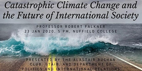 Catastrophic Climate Change and the Future of International Society tickets