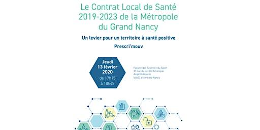 Le Contrat Local de Santé du Grand Nancy : le dispositif Prescri'mouv