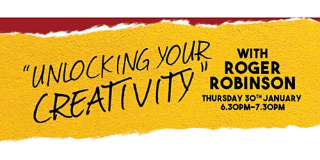 Unlocking Your Creativity with Roger Robinson tickets