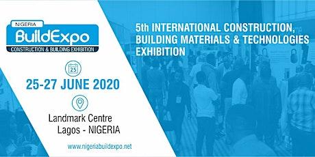 NIGERIA BUILD EXPO 2020 tickets