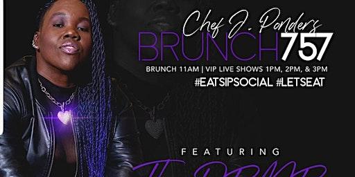 "Brunch757 Eat.Sip.Social Presents ""R&B Brunch"" Feat. The DRMR Live!"