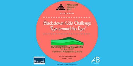 Blackdown Kid's Challenge - Run Around the Rec tickets