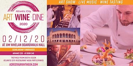 ART WINE DINE Atlantic City tickets