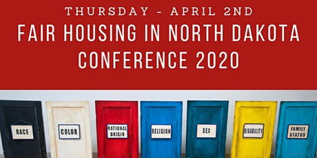HPFHC 3rd Annual Fair Housing in North Dakota Conference tickets