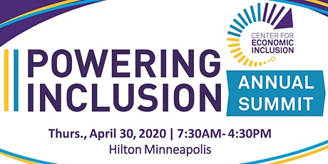 2020 POWERING INCLUSION SUMMIT: The Relentless Pursuit of an Inclusive Economy tickets