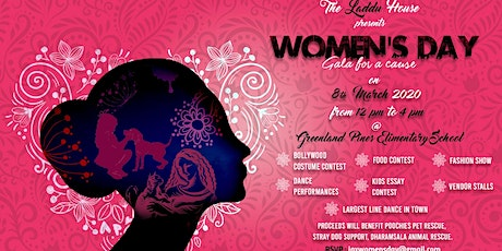 Womens Day Gala for paws cause tickets