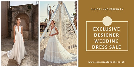 The Ultimate Designer Wedding Dress Sale at The Bannatyne Spa Hotel tickets