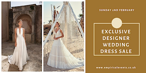 The Ultimate Designer Wedding Dress Sale at The Bannatyne Spa Hotel