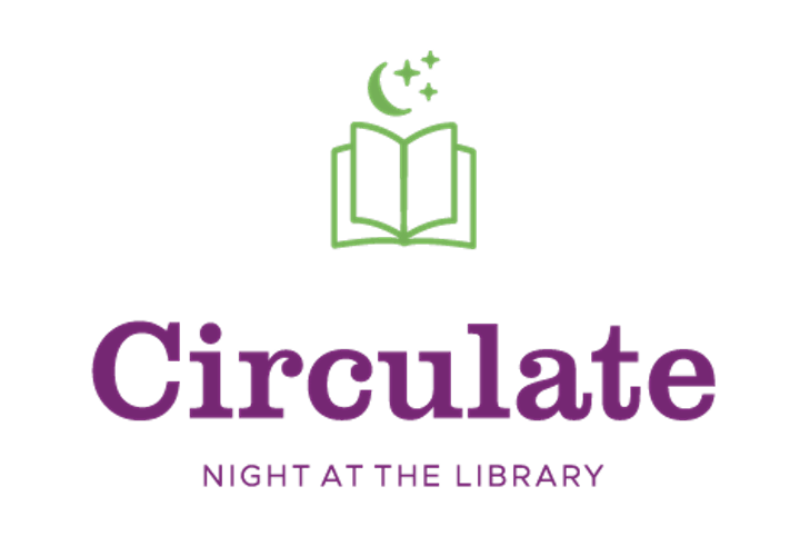 Circulate: Night at the Library image
