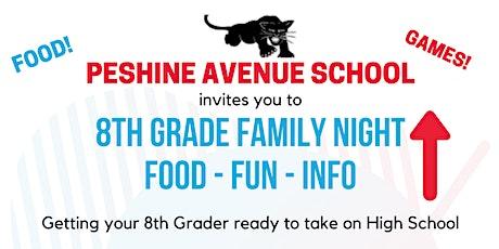 Peshine 8th Grade Family Night ingressos