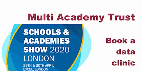 FFT data clinics at the Schools and Academy Show 2020 tickets