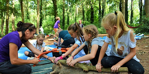 Wild Tribe Woodland Drop off Day (for ages 5-12years)