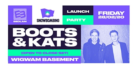 Boots & Kats [All Night Long] at Wigwam tickets