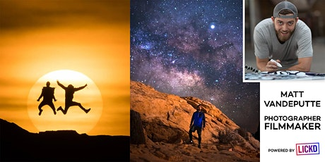 #AMA with Photographer, YouTuber and Timelapse Expert Matt Vandeputte tickets