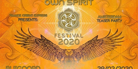 Trance Oriënt Express invites Own Spirit Festival tickets