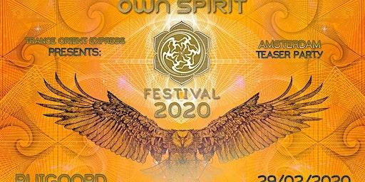 Trance Oriënt Express invites Own Spirit Festival