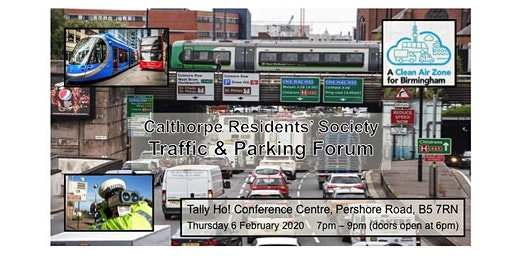 Calthorpe Residents' Society Traffic & Parking Forum