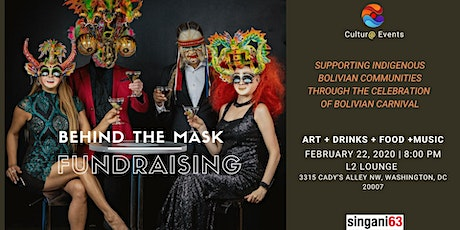 Behind the Mask Fundraiser tickets