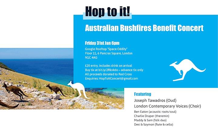 Hop To It: An Australian Bushfires Benefit Concert image