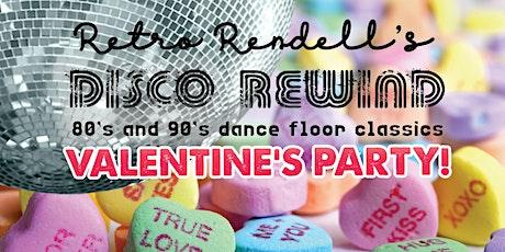 Retro Rendell's Disco Rewind Valentine's Party tickets