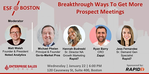 Breakthrough Ways To Get More Prospect Meetings
