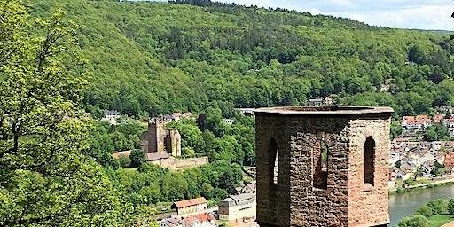 """Sa,25.07.20 Wanderdate """"Single Wandern Vier Burgen Beleuchtung am Neckar für 40-59J"""""""