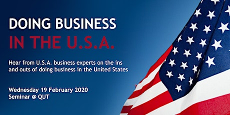 Doing Business in the U.S.A. Seminar tickets